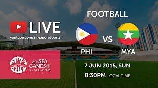 Video Football Philippines vs Myanmar (Jalan Besar stadium) | 28th SEA Games Singapore 2015 MP3, 3GP, MP4, WEBM, AVI, FLV Juni 2018