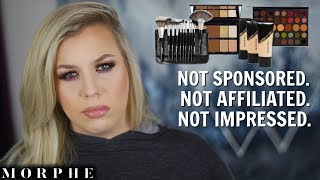 Full Face of MORPHE + Fluidity Foundation Review