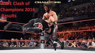 Nonton Wwe Clash Of Champions 2016 Results All Match   Wwe Night Of Champions Winners Highlights Film Subtitle Indonesia Streaming Movie Download