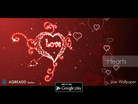 Video of Hearts Live Wallpaper premium