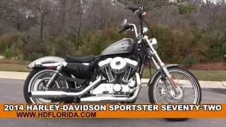 9. New 2014 Harley Davidson Sportster Seventy-Two Motorcycles for sale