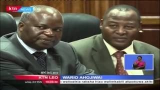 Waziri wa michezo Dr. Hassan Wario ahojiwa na kamati ya seneti kuhusu mipango duni ya Harambee Stars