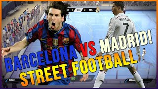 Video FIFA STREET 4 - THE REMATCH BARCELONA VS REAL MADRID MP3, 3GP, MP4, WEBM, AVI, FLV Desember 2017