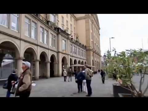 Identitäre: Dresden Altmarkt - Aktion der Identitären Bewegung (Tag der Deutschen Einheit 3.10.2016)