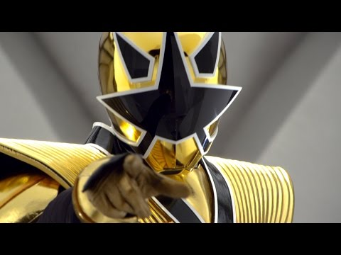 Octo Zord And Gold Ranger Mega Mode Debut Fight (Power Rangers Samurai)