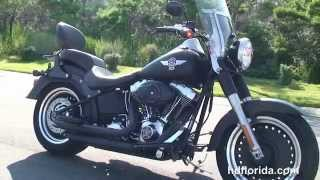 4. Used 2010 Harley Davidson FLSTFB FatBoy Lo Motorcycles for sale *
