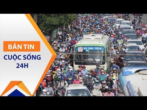 TP.HCM: Ùn tắc giao thông vẫn 'dày như kê' | VTC1 - Thời lượng: 69 giây.
