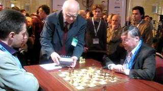 Adams - Karpov  clock scandal