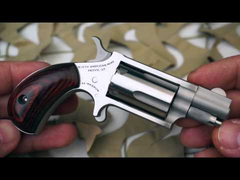 NAA North American Arms Compact Concealed Carry Mini Revolver 22lr 22WMR Review - New World Ordnance