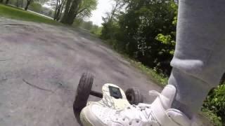 Elektro Skateboard - Berlin Insel Stralau