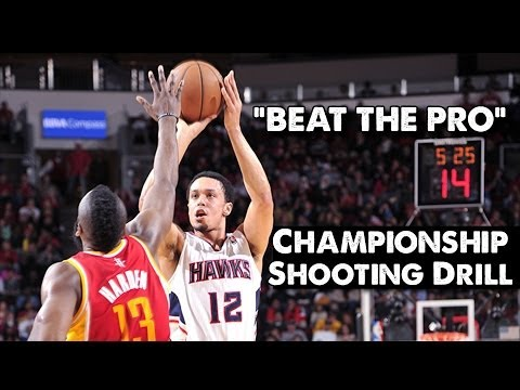 the pro - Try to beat Atlanta Hawks shooting guard John Jenkins, in our first episode of 'Raise Your Game' with NBA skills coach Drew Hanlen. SUBSCRIBE to Stronger Tea...