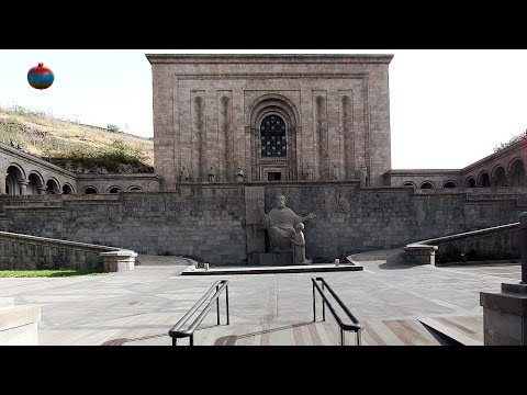 Матенадаран-Институт древних рукописей (видео)