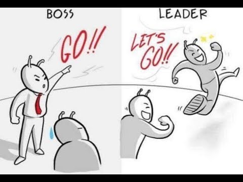 Leadership quotes - Difference between BOSS and LEADER.., Everyone need to know...