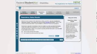 The 2014-2015 FAFSA Overview