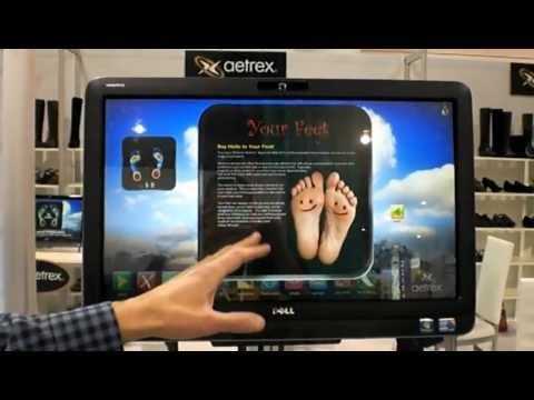 Aetrex Shoe and Insert Technology for 2012