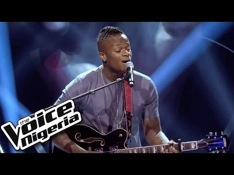 Armtrong Martins sings 'Thinking Out Loud' / Blind Auditions / The Voice Nigeria 2016