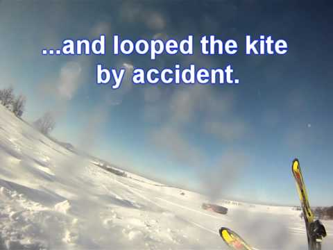 Best of my Snowkite crashes, accidents and other funny stuff...