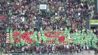 2013春 センバツ大会2回戦 京都翔英応援風景