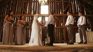 Beautiful Rustic Barn Wedding