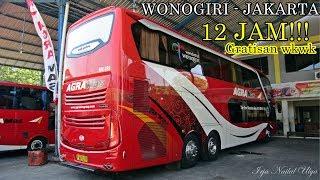 Video Bus Jahat!!, Wonogiri - Jakarta Gratisan, Hanya 12 Jam! Bus Agra Mas Double Deck Memang Beda MP3, 3GP, MP4, WEBM, AVI, FLV Juni 2018