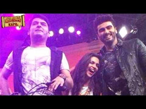 Deepika Padukone, Arjun Kapoor on Comedy Nights with Kapil 30th August 2014 EPISODE   Finding Fanny