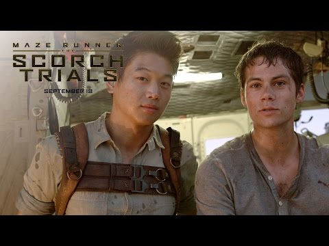 Maze Runner: The Scorch Trials (Featurette 'The Story')