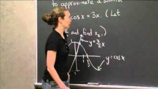 Using Newton's Method | MIT 18.01SC Single Variable Calculus, Fall 2010