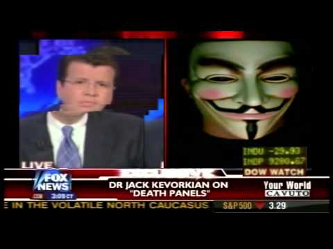 anonymous interrompe e lancia un messaggio su fox news in diretta