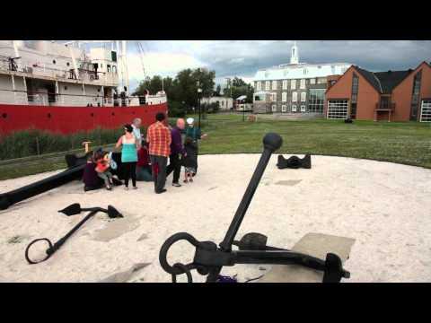 Vidéo – Le musée maritime du Québec