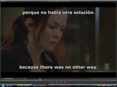 Video 0 de KMPlayer: Cargar dos subtítulos a la vez