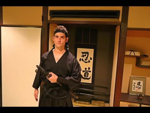 What To Do In Kyoto |  Go To NINJA SCHOOL In Japan ! (MUST TRY ACTIVITY)