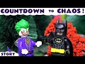 Lego Batman Movie Toys and Joker in a toy story with Scooby Doo and Thomas The Train by ToyTrains4u