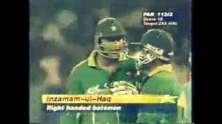 India Vs Pakistan Cricket Classic Moment