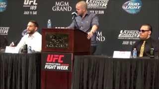 Video 'The McGregor Show' - Best of UFC 189 Press Conference MP3, 3GP, MP4, WEBM, AVI, FLV Oktober 2018