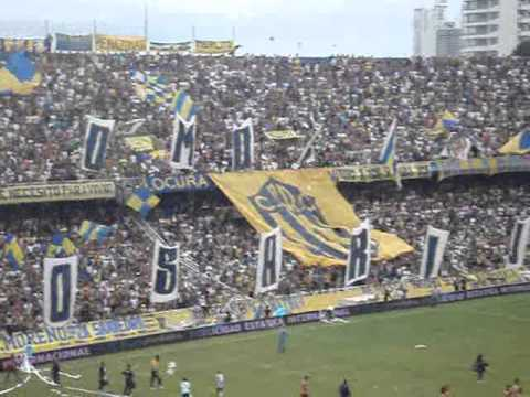 Video - Rosario Central vs RiBer-Hinchada - Los Guerreros - Rosario Central - Argentina