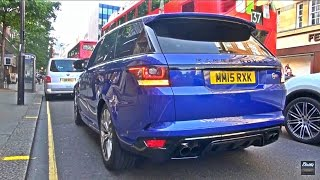 The new Range Rover SVR makes a wonderful sound with the roaring V8 engine! I wish they would all sound like that.