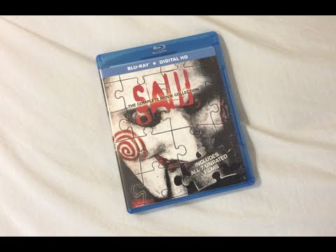 Saw: The Complete Movie Collection (2004-2010) - Blu Ray Review and Unboxing