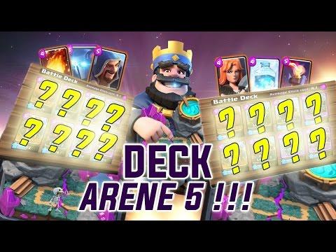 Clash royale fr le meilleur deck en ar ne 5 pour monter for Meilleur deck arene 4