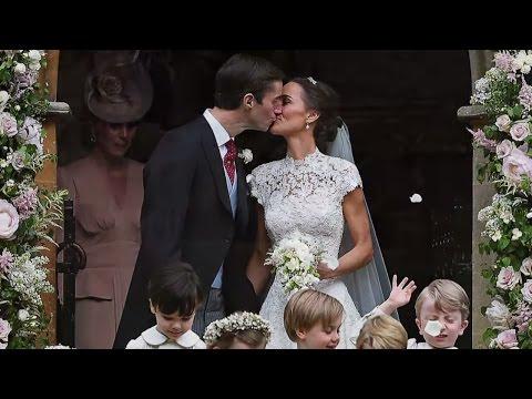 Traumhochzeit: Pippa Middleton und James Matthews geb ...