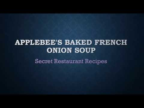 Applebee's Baked French Onion Soup / Secret Restaurant Recipes
