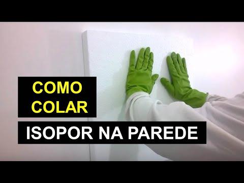 Imagens de calor - COMO COLAR ISOPOR NA PAREDE