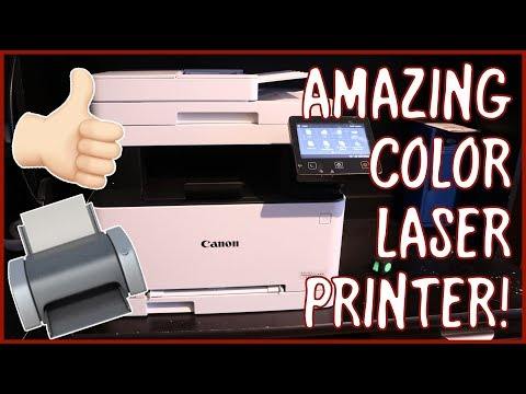 Canon Color ImageCLASS MF634Cdw Printer Overview, Demo, and Review   The BEST Printer You Can Buy!