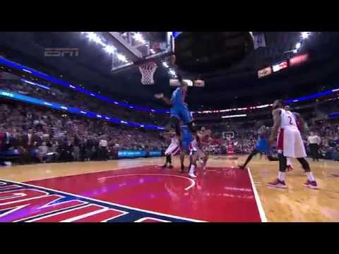 Video: Russell Westbrook Scores Game-Winning Layup with 0.8 Seconds