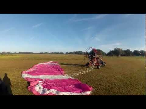 Gary's frist flight with rebuilt 503 Rotax