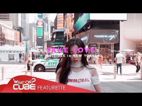 (여자)아이들((G)I-DLE) - 'FAKE LOVE / BTS (Dance Cover in New York)' (видео)