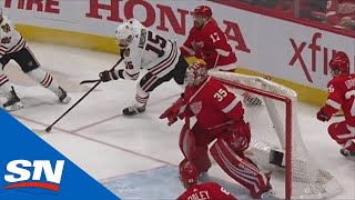 Artem Anisimov Spins Out From Behind The Net And Scores On Red Wings by Sportsnet Canada