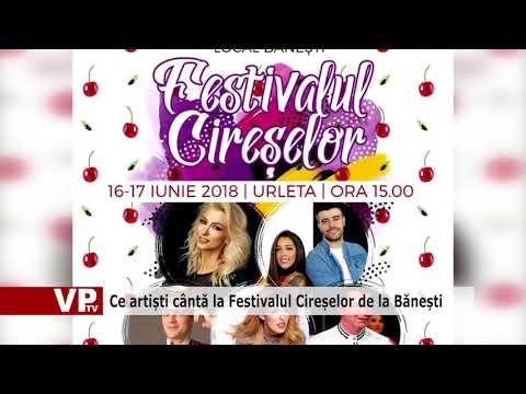 Ce artiști cântă la Festivalul Cireșelor de la Bănești