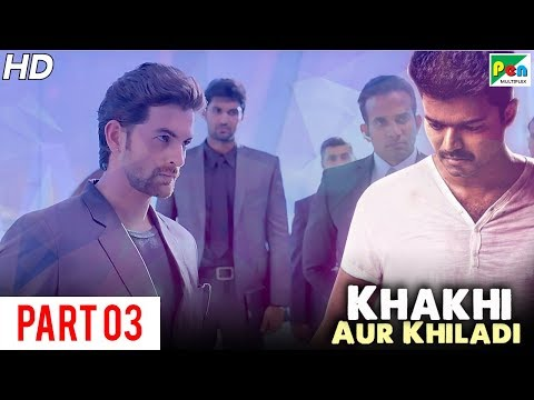 Khakhi Aur Khiladi (Kaththi) Super Hit Hindi Dubbed Movie   Part 03   Vijay, Samantha Akkineni