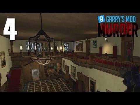 Garrys Mod - Murder (Garry's Mod) [4] Seven-Man Murder!