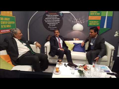 IT Minister KTR Davos Tour